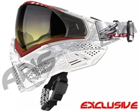 Push Unite Mask - White Angels w/ Gradient Yellow Lens