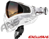 Push Unite Mask - White Camo w/ Gradient HD Lens