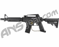 Refurbished Tippmann US Army Alpha Black Elite Tactical Paintball Gun - Black (016-0222)