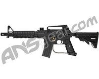 Refurbished Tippmann US Army Alpha Black Elite Tactical Paintball Gun with E-Trigger - Black (016-0223)