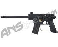 Refurbished Tippmann US Army Alpha Black Elite Tactical Paintball Gun with E-Trigger - Black (016-0358)
