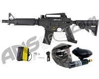 Refurbished Tippmann US Army Alpha Black Elite Tactical Paintball Gun Power Pack (016-0224)