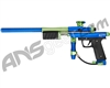 Refurbished - Azodin KP3 SE Kaos Pump Paintball Gun - Dust Blue/Polished Green/Dust Green #1 (016-0116)