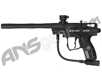 Refurbished Kingman Spyder Victor Semi-Auto Paintball Gun - Diamond Black (016-0300)