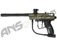 Refurbished Kingman Spyder Victor Semi-Auto Paintball Gun - Olive Green (016-0302)
