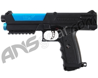 Refurbished - Tippmann TiPX Trufeed Deluxe Pistol Kit - Black/Dust Teal (016-0367)