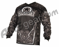 Refurbished - GI Sportz Herald Paintball Jersey - Grey - Medium (010-0001)