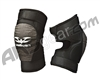 Refurbished - Valken Paintball Impact Knee Pads - Black - Small (024-0003)