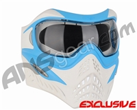 Refurbished V-Force Grill Paintball Mask - SE Blue/White (021-0115)