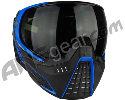 Refurbished - HK Army KLR Paintball Mask - Black/Blue (021-0011)