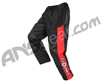 Refurbished - GI Sportz Grind Paintball Pants - Black/Red - Medium (011-0001)