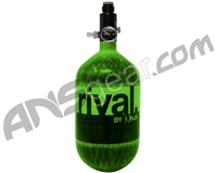 Rival Carbon Fiber Air Tank - 68/4500 - Lime