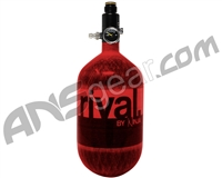 Rival Carbon Fiber Air Tank - 68/4500 - Red