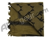 Rothco Shemagh Tactical Desert Scarf - Crossed Rifles Olive Drab