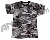 Rothco Youth Short Sleeve T-Shirt - Urban Camo