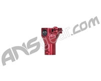 Shocktech Spyder Clamping Feed Neck w/ Tabs - Mid Rise - Red