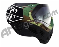 Sly Paintball Mask Profit Series - Woodland Camo