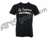 Sly Paintball California T-Shirt - Black