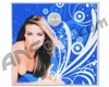 Stinger Paintball Designs Halo Too/Halo B Back Plate - Carmen Electra 1 - Blue
