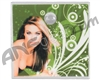 Stinger Paintball Designs Halo Too/Halo B Back Plate - Carmen Electra 1 - Green