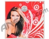 Stinger Paintball Designs Halo Too/Halo B Back Plate - Carmen Electra 1 - Red