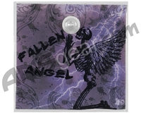 Stinger Paintball Designs Halo Too/Halo B Back Plate - Fallen Angel - Grey