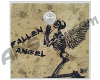Stinger Paintball Designs Halo Too/Halo B Back Plate - Fallen Angel - Olive