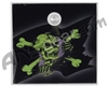 Stinger Paintball Designs Halo Too/Halo B Back Plate - Pirate Flag - Green