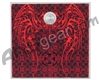 Stinger Paintball Designs Halo Too/Halo B Back Plate - Tribal - Red
