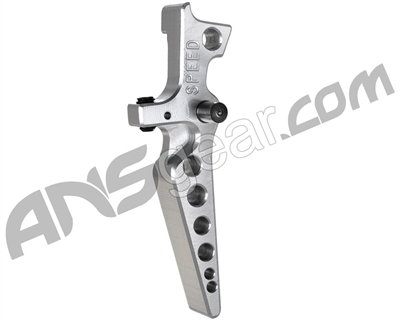 Speed Airsoft M4/M16 Tunable Blade Trigger - Silver (SA3034)