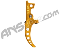Speed Airsoft HPA M4 Curved Tunable Trigger - Gold (SA5008)