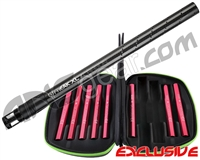 Smart Parts Complete Freak XL Carbon Fiber Barrel Kit w/ Red Inserts - Autococker