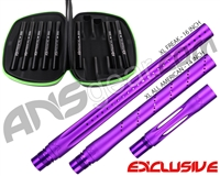 Smart Parts Freak XL Barrel Complete Kit w/ Blackout Inserts - Autococker - Electric Purple