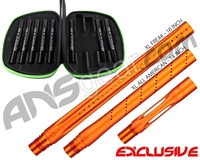 Smart Parts Freak XL Barrel Complete Kit w/ Blackout Inserts - Autococker - Sunburst Orange
