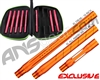 Smart Parts Freak XL Barrel Complete Kit w/ Red Inserts - Autococker - Sunburst Orange