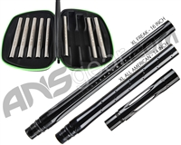 Smart Parts Freak XL Barrel Complete Kit w/ Stainless Steel Inserts - Autococker - Black