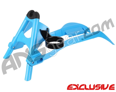 Splattrak Paintball Gun Stand - Cyan