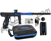 SP Shocker XLS Paintball Gun - Black w/ Blue Accents