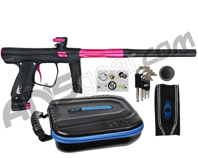 SP Shocker XLS Paintball Gun - Black w/ Pink Accents