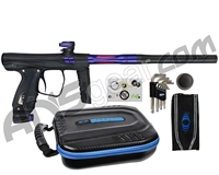 SP Shocker XLS Paintball Gun - Black w/ Purple Accents