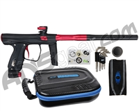 SP Shocker XLS Paintball Gun - Black w/ Red Accents