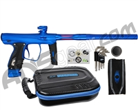 SP Shocker XLS Paintball Gun - Blue w/ Blue Accents