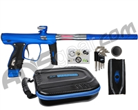 SP Shocker XLS Paintball Gun - Blue w/ Pewter Accents