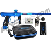 SP Shocker XLS Paintball Gun - Blue w/ Teal Accents