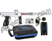 SP Shocker XLS Paintball Gun - Clear w/ Pewter Accents