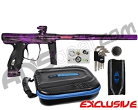 SP Shocker XLS Paintball Gun - Polished Acid Wash Purple
