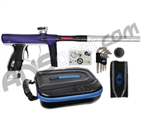 SP Shocker XLS Paintball Gun - Purple/Clear/Black w/ Clear ASA