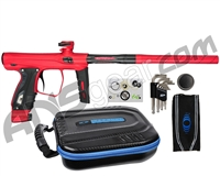 SP Shocker XLS Paintball Gun - Red/Red