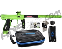 SP Shocker XLS Paintball Gun - Slime/Slime