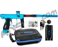 SP Shocker XLS Paintball Gun - Teal/Teal